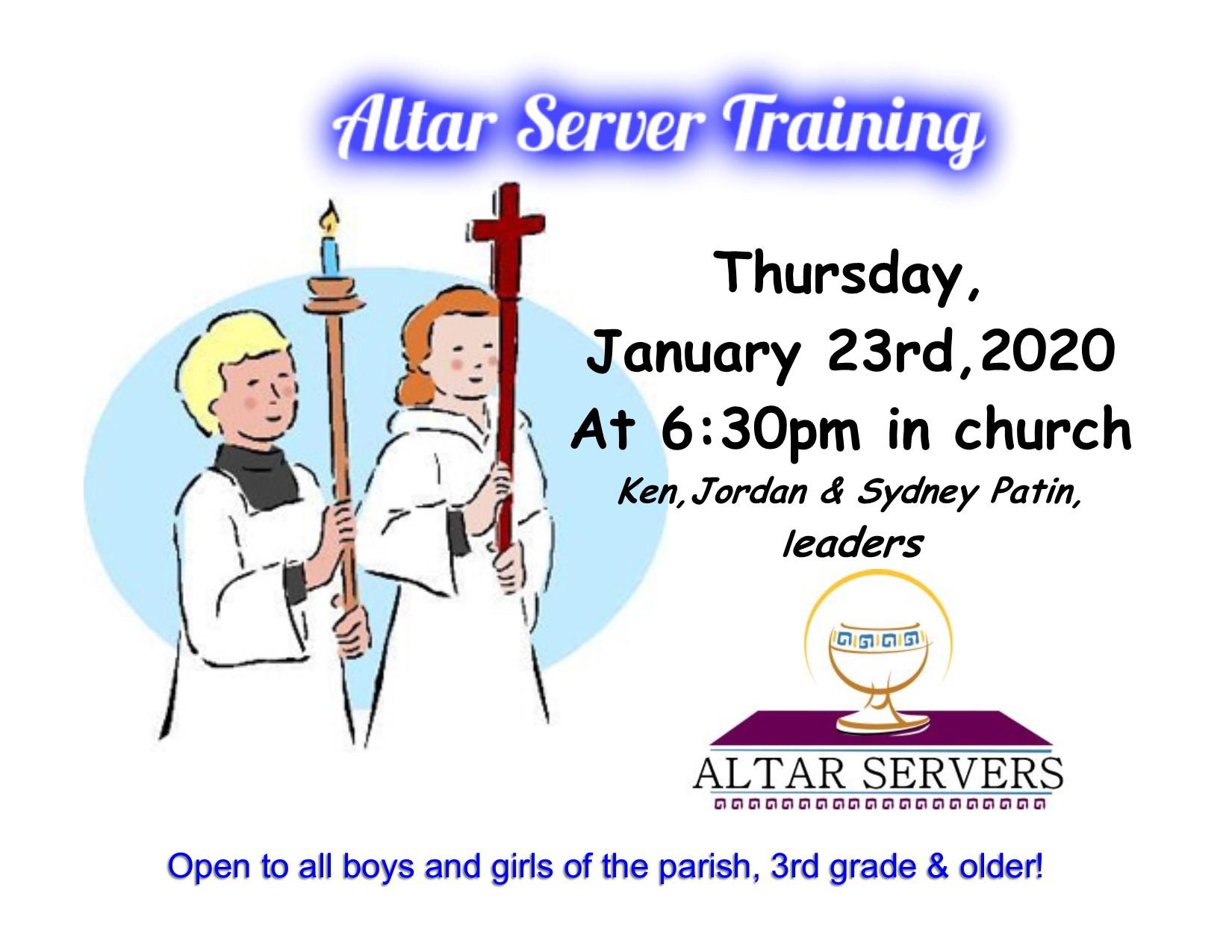 Altar Server FB Jan 2020