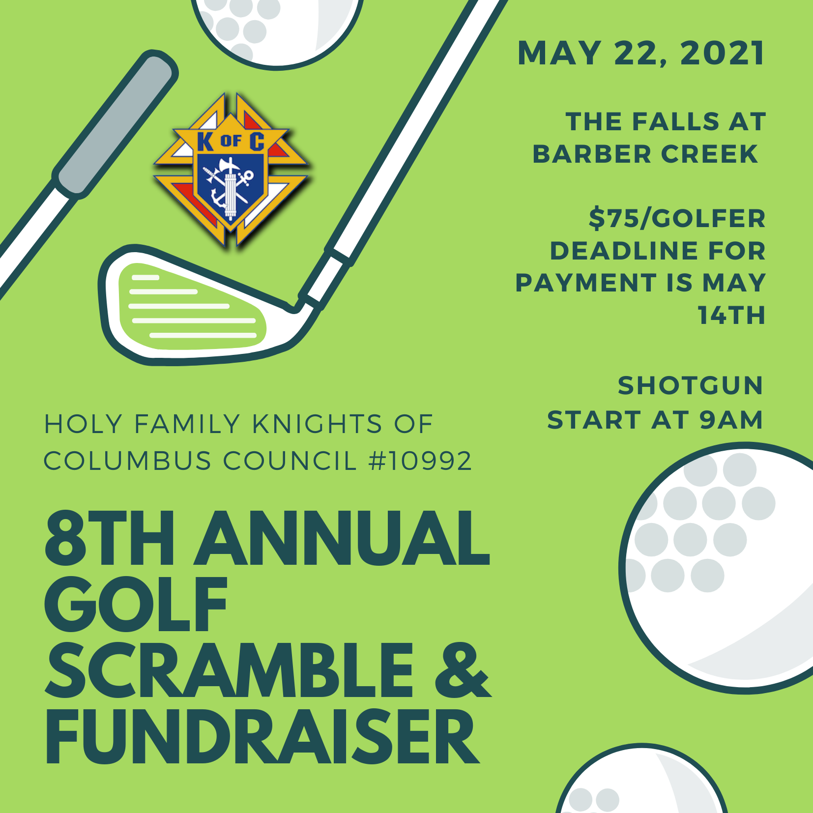 K of C 2021 Golf Outing