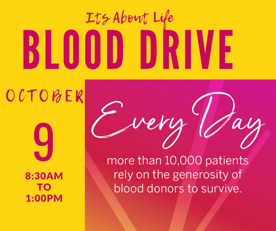 Blood Drive 10-9-21