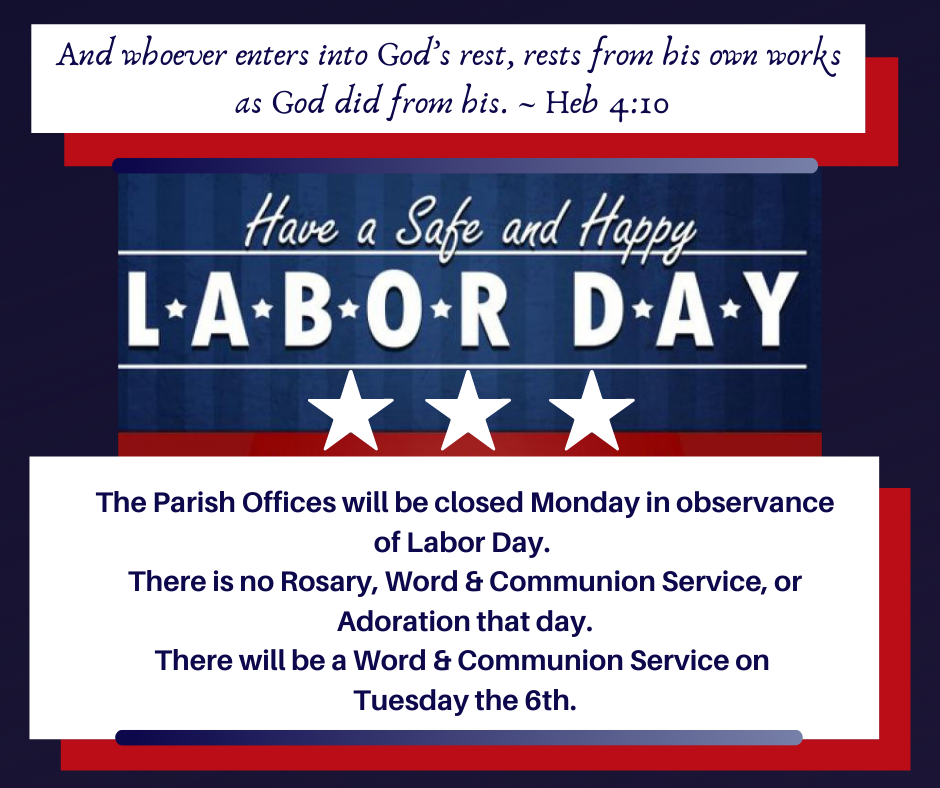 Happy Labor Day! 2021